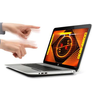 ジェスチャー操作!Leap Motion搭載のノートPC HP ENVY17 Leap Motion SEが発売に!