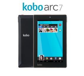 楽天のKobo Arc 7とKobo Arc 7HDを比較してみた。