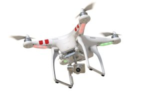 DJI Phantom 2 Vision+ V3.0 Quadcopter with Gimbal-Stabilized Camera
