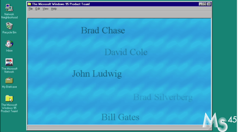 WINDOWS You Probably Never Found This Wholesome Windows 95 Easter Egg