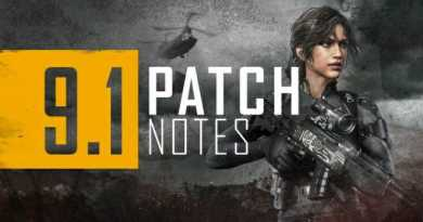 Battlegrounds PC 1.0 version patch note #9.1 released.. New map'Paramo' appeared and competitive solo mode added