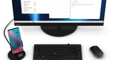Motorola has developed a mode to convert the phone into PC called Ready For.