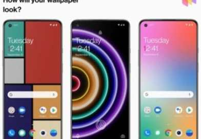 OnePlus WallPaper app changes wallpaper based on your phone usage