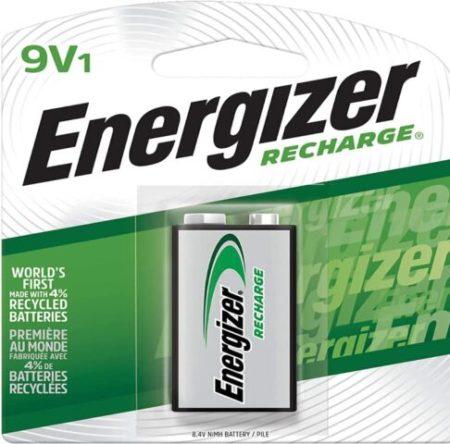 Energizer Rechargeable Batteries 9V,