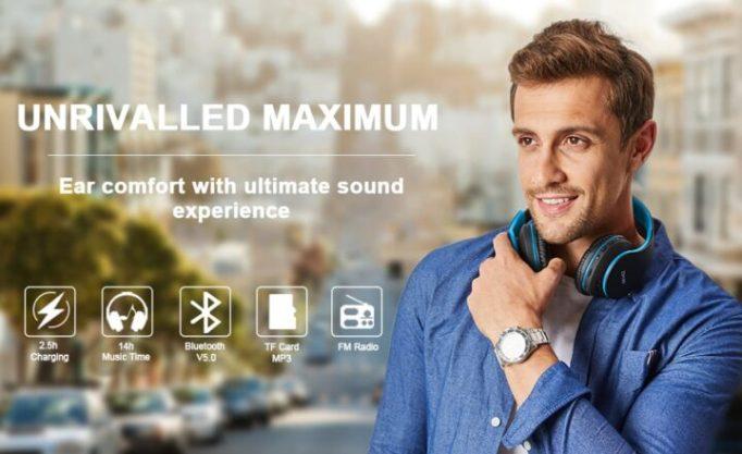 ZIHNIC Wireless Headphones