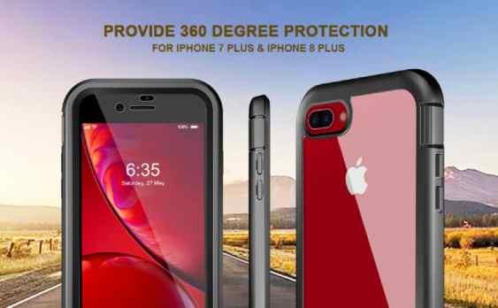 Eonfine iPhone 8 Plus 360 Cover