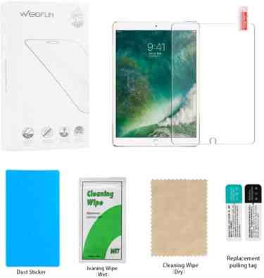 WEOFUN Tempered glass Screen Protector for iPad Pro 10.5 2017