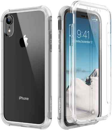 SURITCH Clear 360 Case for iPhone XR