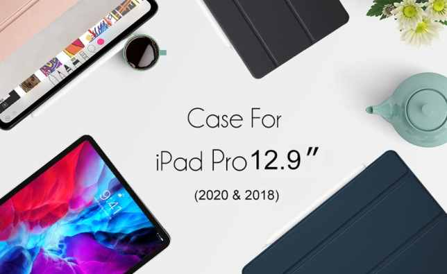 iPad Pro 12.9 Case 2020 and 2018
