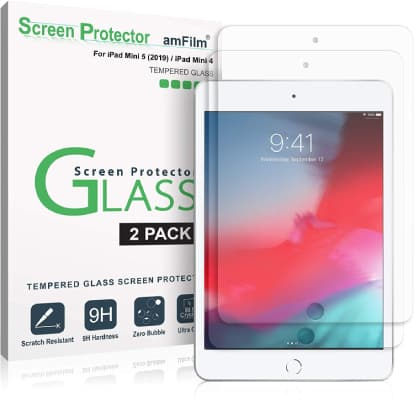 amFilm iPad Mini 5 screen protector
