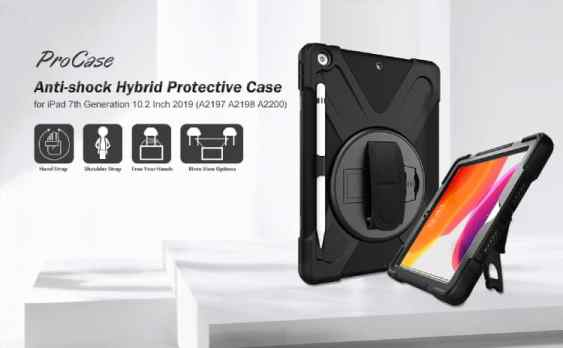 ProCase iPad 7th Generation 10.2'' 360 Case