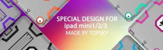TOPSKY for iPad Mini 2 360 Cover