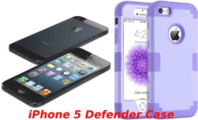 iPhone 5 defender case