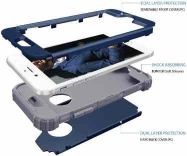 Fingic iPhone 6 plus 360 case