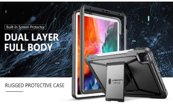 ZtotopCase Case for New iPad Pro 11 2020/2018 360 Case