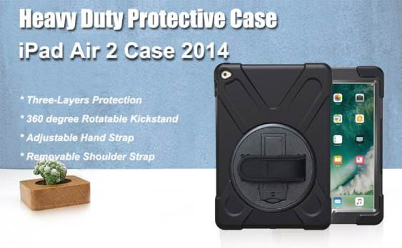 TSQ for iPad Air 2 Case (2014 Release)