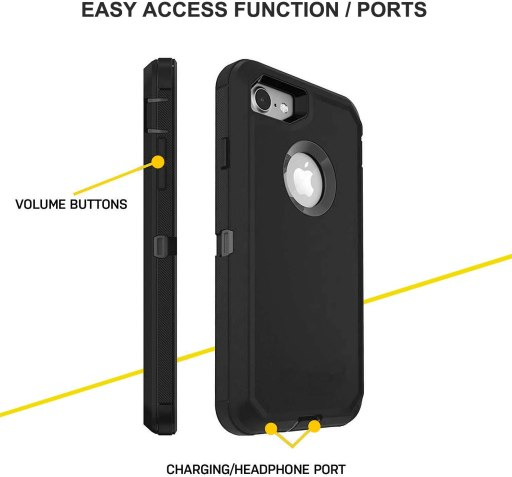 iphone 7 defender case/cover
