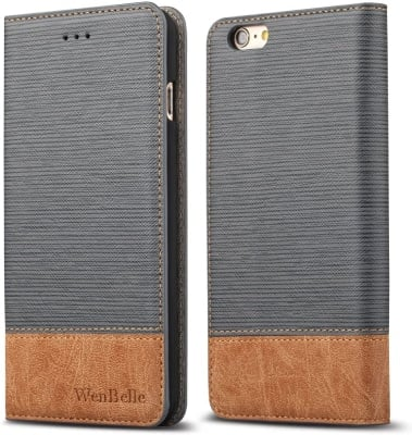 WenBelle iPhone 6s Plus Wallet Case/Cover