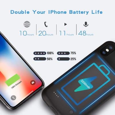 Wixann iPhone XS charging case