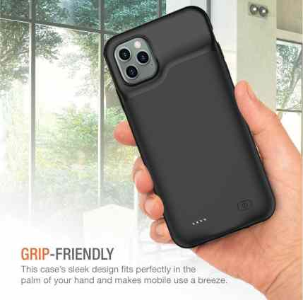 iPhone 11 Pro Max Battery/Charging Case/Cover
