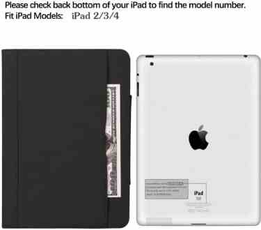 MOFRED for iPad 3 Wallet Case
