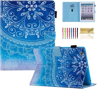 Dteck for iPad 4th generation Wallet Case