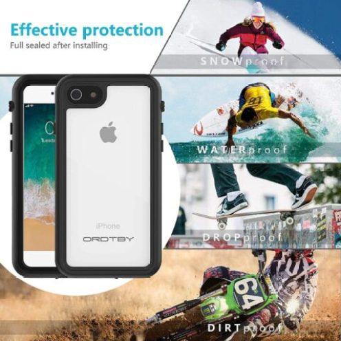 ORDTBY iPhone 7 waterproof case