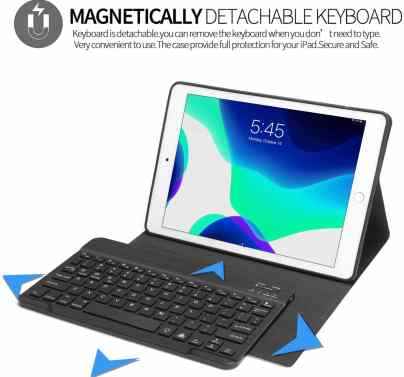 iPad 7 Keyboard Case/Cover