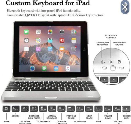 iPad 4 keyboard Case
