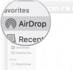 Adjust AirDrop