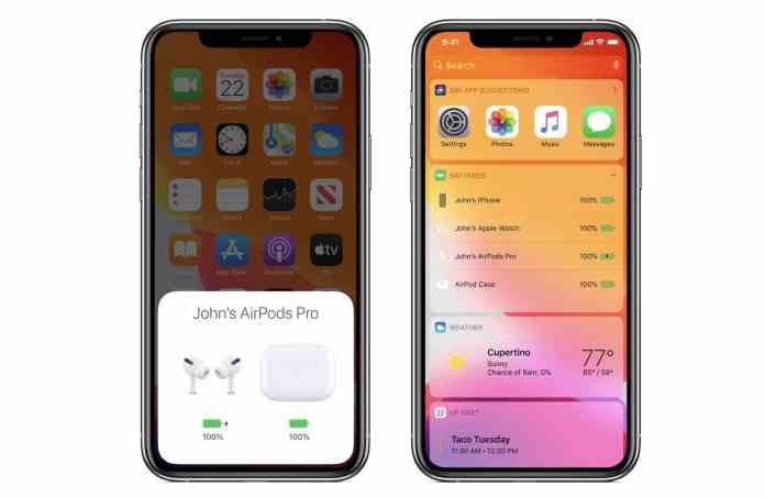 Comparison of AirPods and AirPods Pro