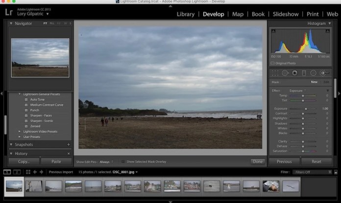 Lightroom-Best Photo Editing Apps for your Mac