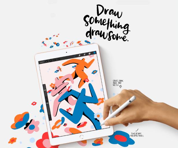 iPad 8th generation 2020 tasks