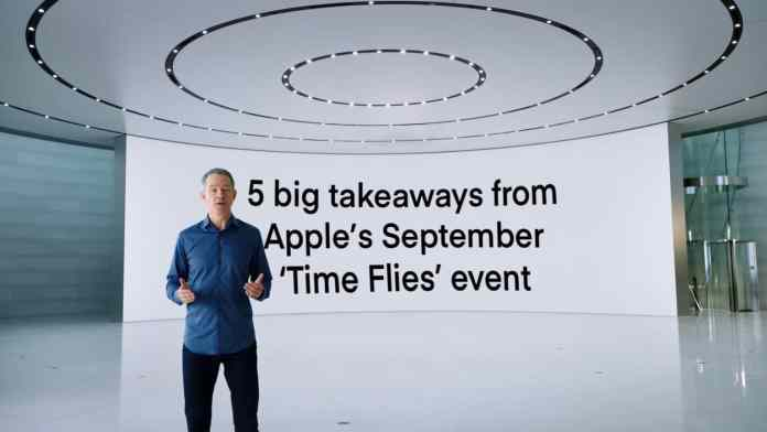 Time Flies Apple Event