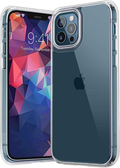 YOUMAKER Compatible with iPhone 12 Pro Max Clear Case