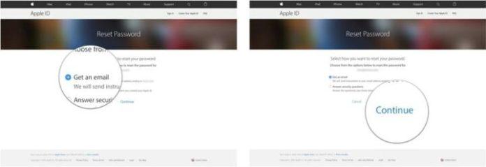 change email address on Apple ID