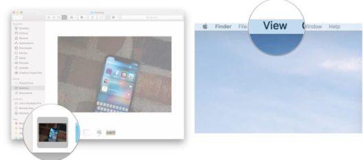 View file metadata in Finder