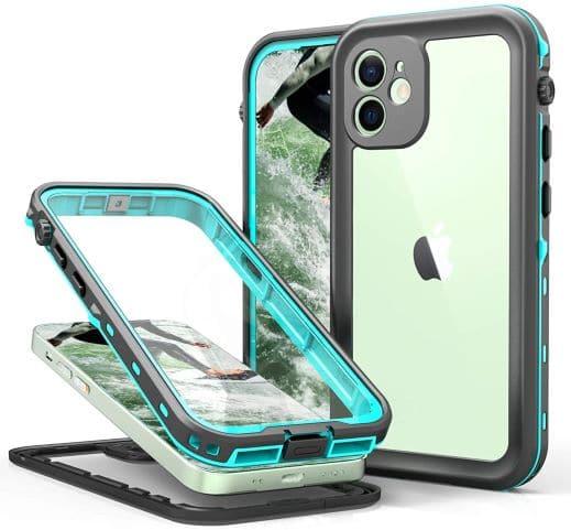 TIPICOOL iPhone 12 Waterproof Cover Teal