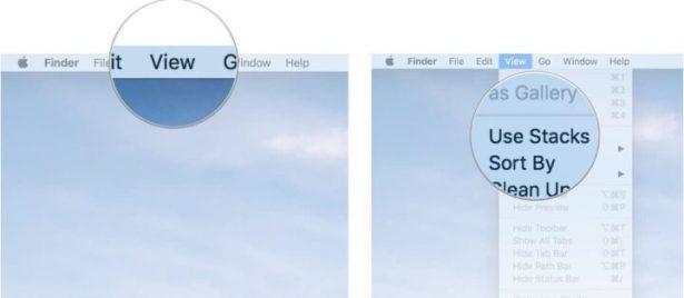 Use Stacks in Finder