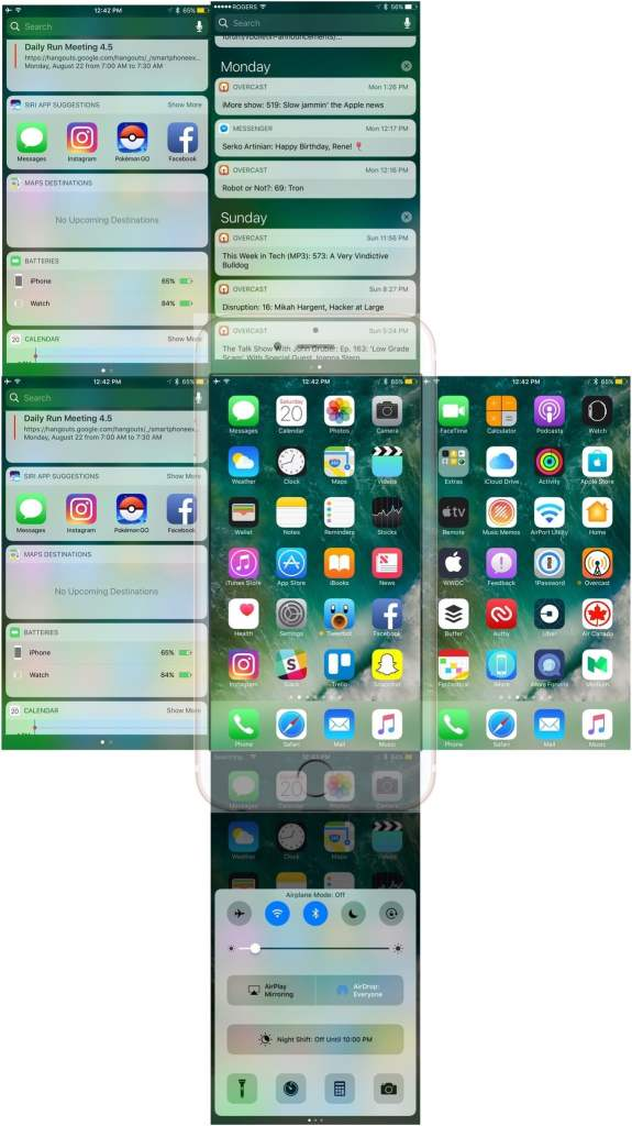 Understanding how to navigate your Home screen on iPhone and iPad