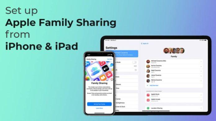 Setup Apple Family Sharing