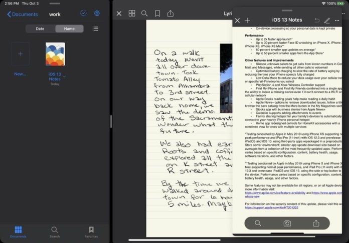 Taking the best iPad OS has and making it better