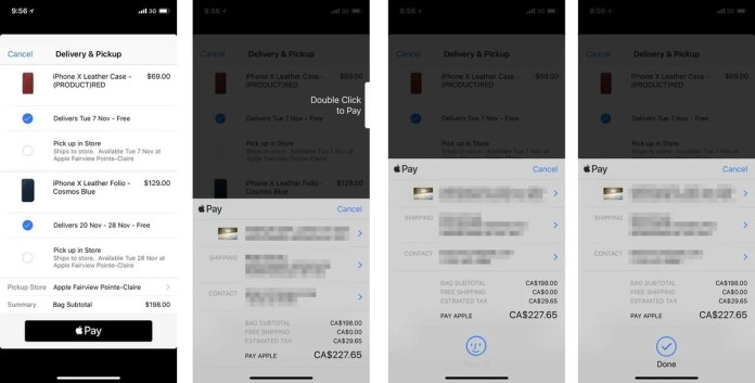 How to use Apple Pay on iPhones with Face ID