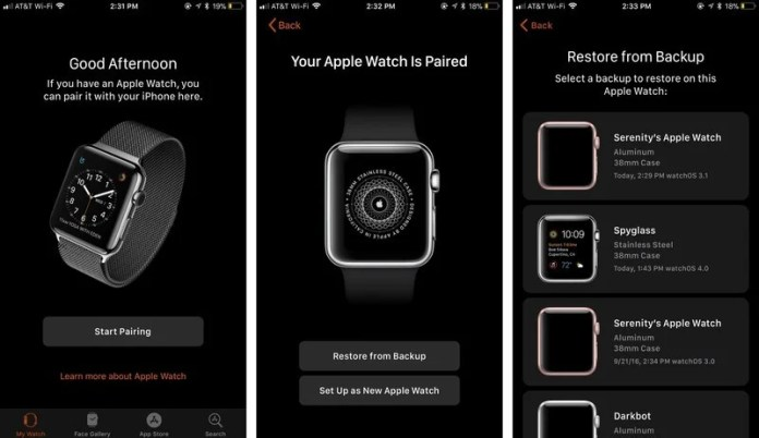 How to set up a new Apple Watch