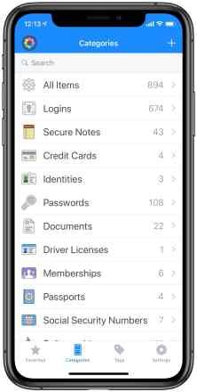 Touch ID apps for iPhone