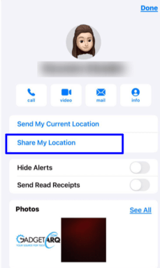 send iMessages on iPhone