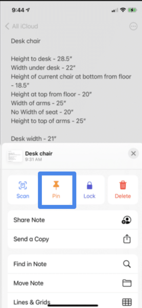 Create Notes on iPhone and iPad