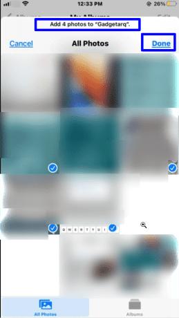 Create new albums in the Photos app- Organize Photos into Albums