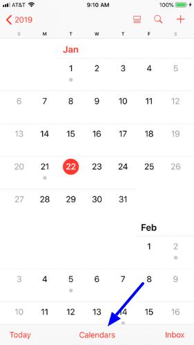 Make an iCloud calendar public on your iPhone or iPad