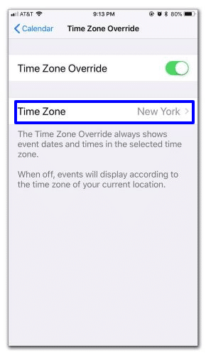 Change the default time zone for calendar alerts- Customize your Calendar settings